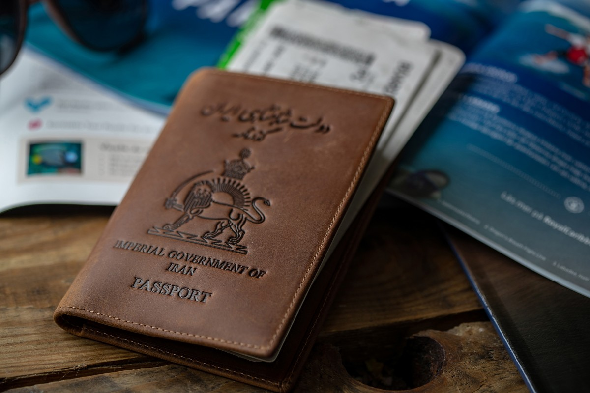 The KC Imperial Iranian Passport Cover