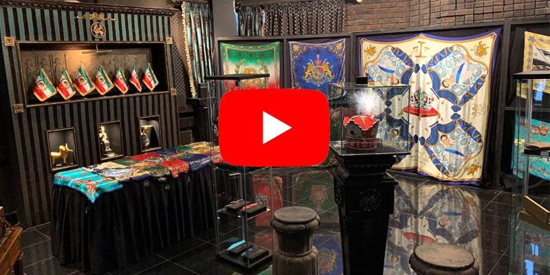 Kiani Concept exhibition in Persian palace Toronto